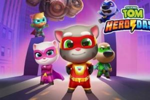 Talking Tom Heroes Coloring Pages
