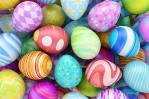 Coloriage oeufs de Pâques