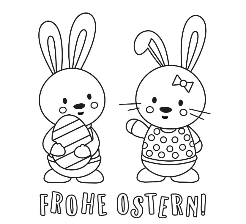 Gratis ausmalbilder ostern Ostern Ausmalbilder
