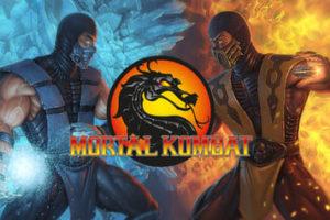 Dibujos de Mortal Kombat para colorear