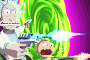 Coloriage Rick et Morty