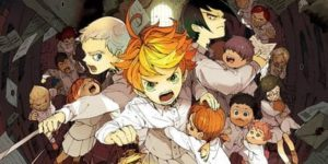 Desenhos de The Promised Neverland para colorir