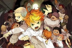 Ausmalbilder The Promised Neverland