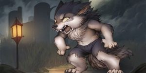 Coloriage Loup-garou