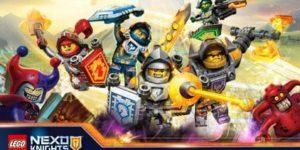 Раскраски Лего Нексо Найтс