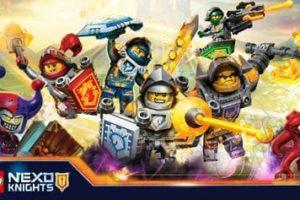 Coloriage Lego Nexo Knights