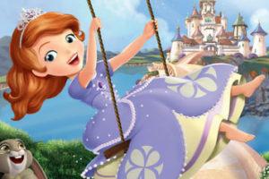 Dibujos de La Princesa Sofia para colorear