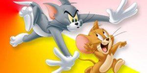 Coloriage Tom et Jerry