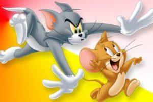 Desenhos de Tom e Jerry para colorir
