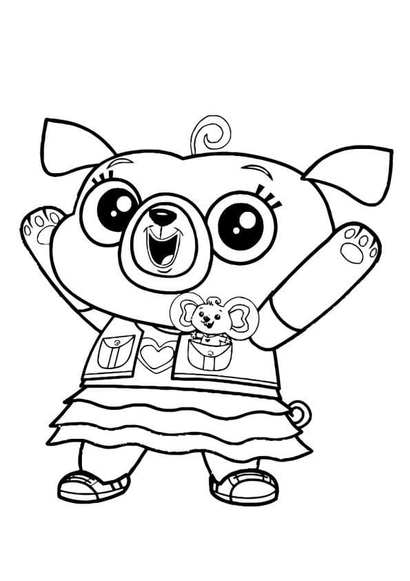 Chip And Potato Coloring Pages Printbale Coloring Pages