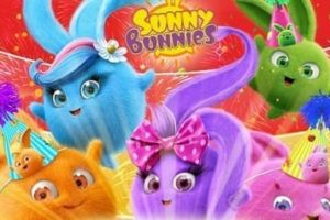 Sunny Bunnies Coloring Pages