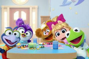 Desenhos de Muppet Babies para colorir