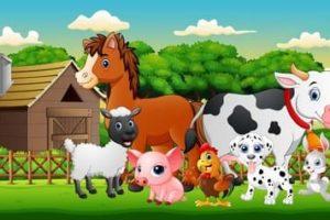 Ausmalbilder Bauernhof