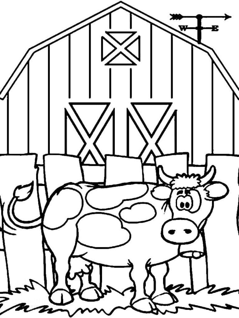 Ausmalbilder Bauernhof - 22 kostenlose Malvorlagen für Kinder