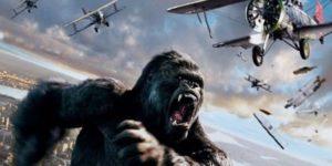 Desenhos de King Kong para colorir