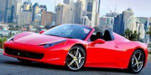 Dibujos de Ferrari para colorear