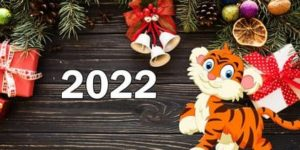 Раскраски год Тигра 2022